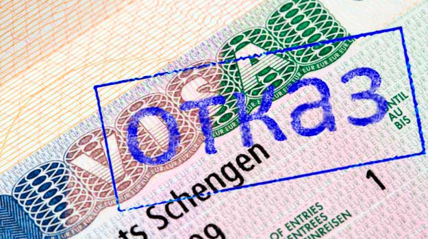 Самые частые причины отказов в шенгенской визе